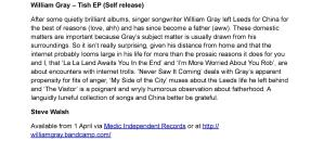 William-Gray-EP Vibrations Review Cropped